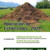 JORNADA DE APLICACION DE ESTIERCOLES 2021 -audio